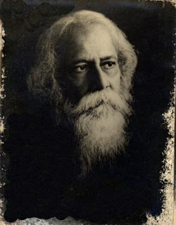 A picture of Rabindra Nath Tagore